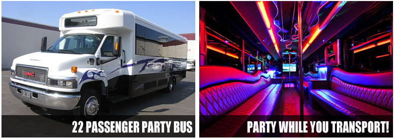 Airport Transportation Party Bus Rentals Indianapolis