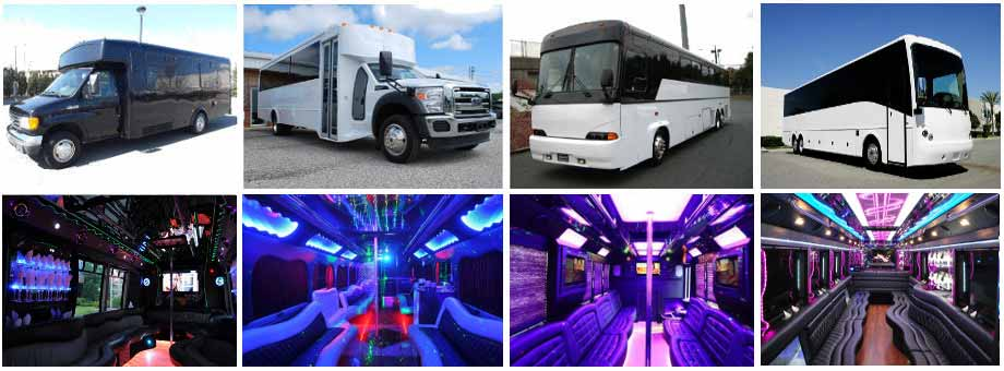 Charter Bus Party Buses Indianapolis