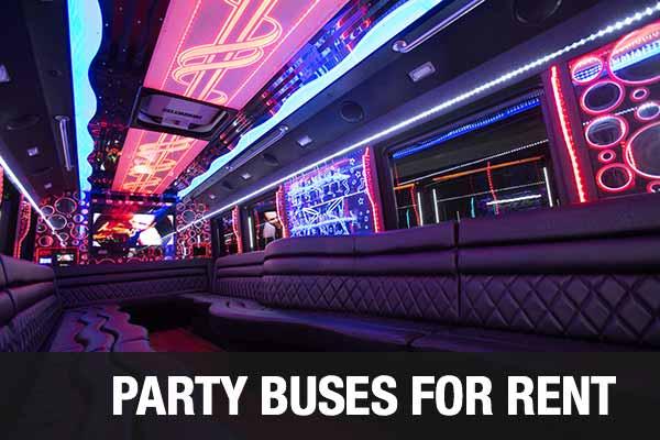 Wedding Transportation Party Bus Indianapolis